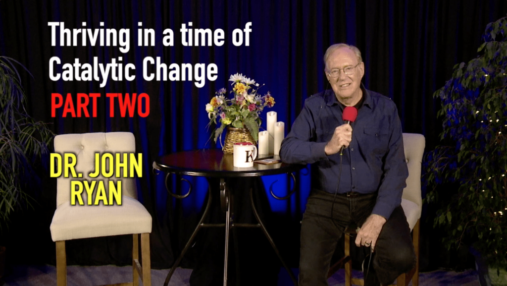 catalytic change dr. john ryan